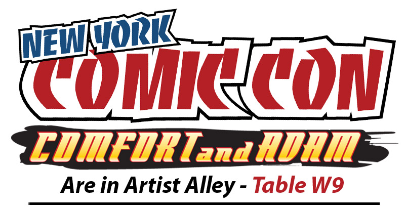 Comfort And Adam NYCC 2015 by ComfortLove