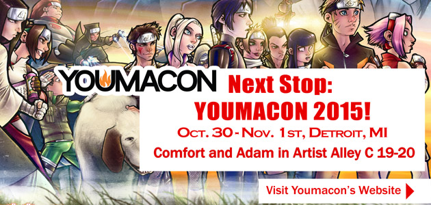 Comfort and Adam Youmacon 2015 by ComfortLove