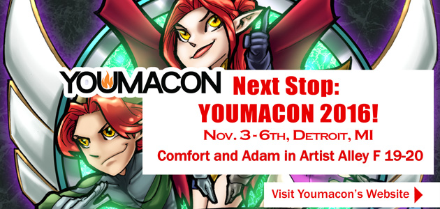 Comfort and Adam Youmacon 2016 by ComfortLove