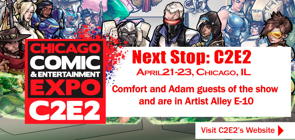 Artist Alley Placement C2E2 2017 by ComfortLove