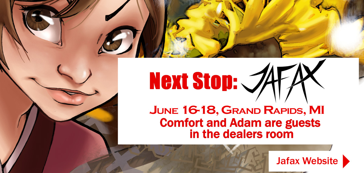 Headed to Jafax 2017 by ComfortLove
