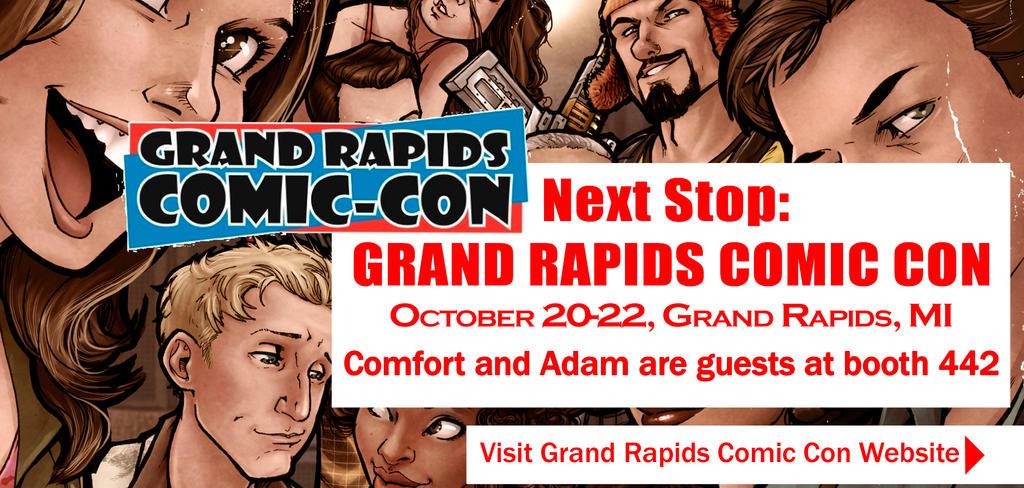Grand Rapids Comic Con 2017 by ComfortLove