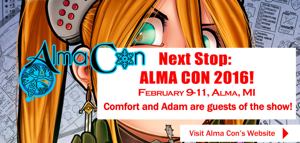 Comfort and Adam: Guests of AlmaCon 2017 by ComfortLove
