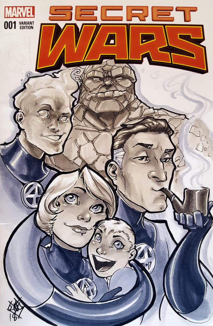 Fantastic 4 Family C2E2 2018 by ComfortLove
