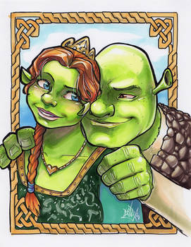 Shrek And Fiona ECCC 2018