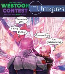 The Uniques ep. 8: Read on Webtoons!