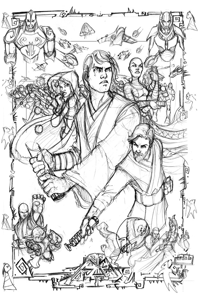 Star Wars Clone Wars Rough by ComfortLove