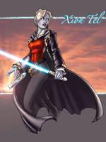 Xion-Tel Jedi Master by ComfortLove