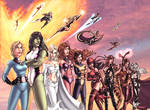 Women of Marvel in Color