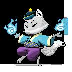 Pixel avatar - Winter Foxie by ShelbyWinter