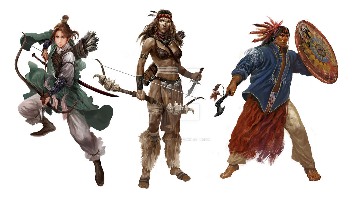Character Design Definition : Character design warriors by shelbywinter on deviantart