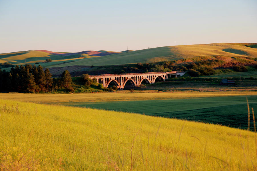 Rosalia Railroad Bridge by Hobgoblin666