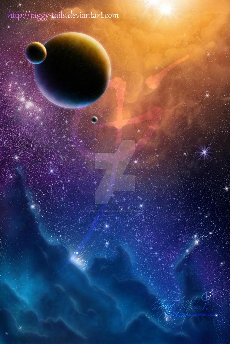 Amber Nebula by piggy-tails