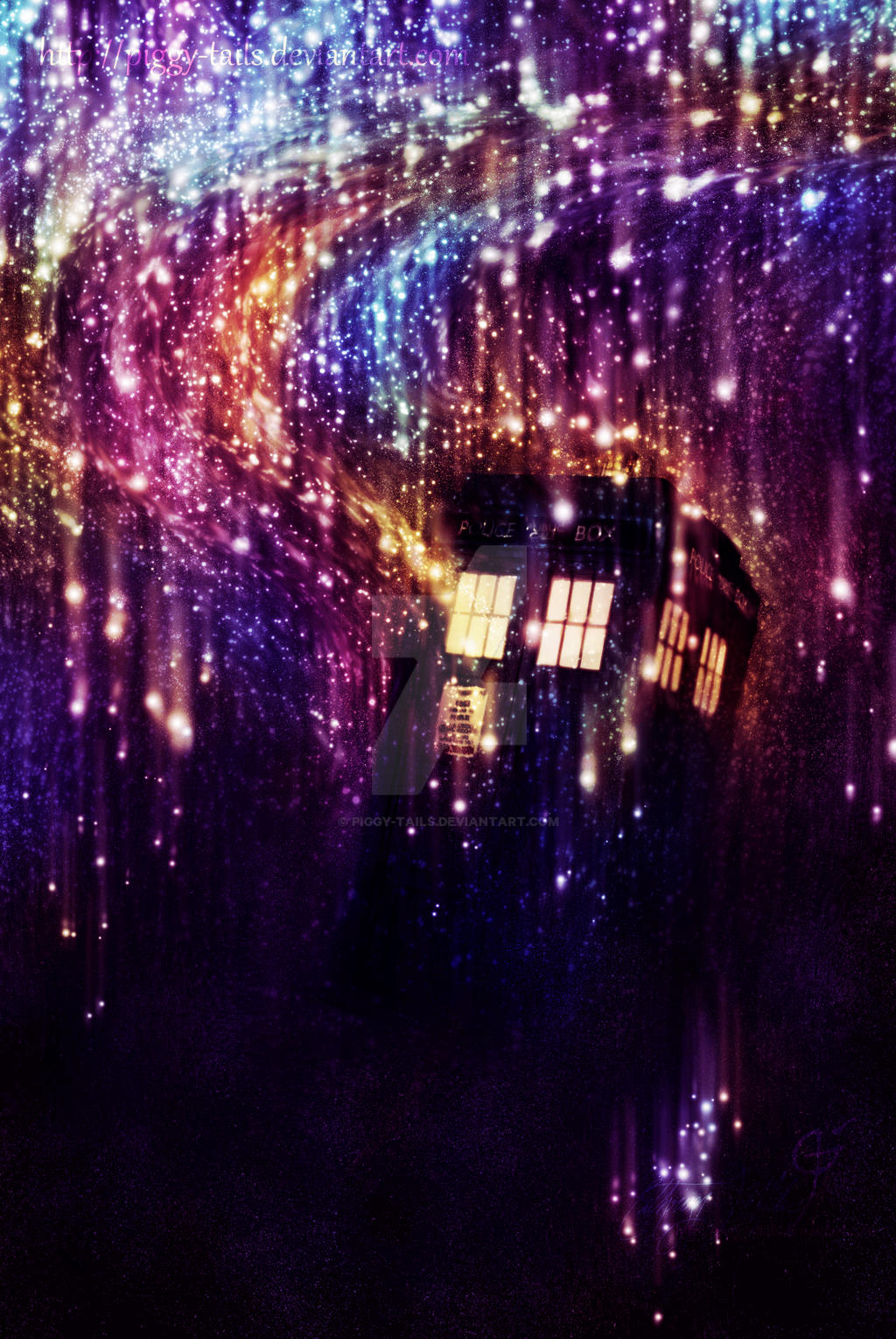 Tardis Regeneration by piggy-tails