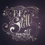 Psalms 46 Calligraphy