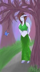 A walk in the forest by elementalearthtiger