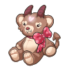 Heart Stuffie by tomeofbubbies