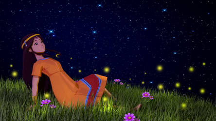 fireflies by OTsunaO