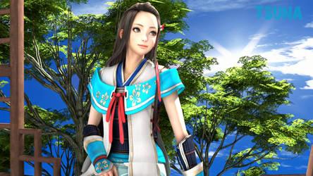 Lady Hayakawa by OTsunaO