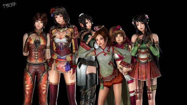 Warrior Girls by OTsunaO