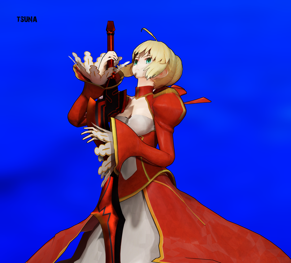 Red Saber - Takeuchi Design ver by OTsunaO