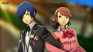 Yukari and Makoto