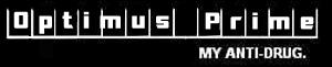 Optimus Prime:  My Anti-Drug by lightn11