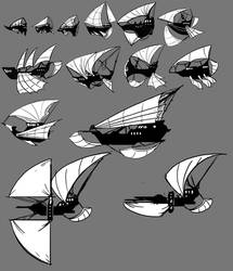 Airship thumbs