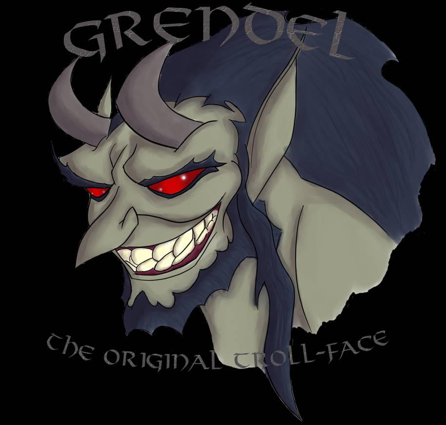 Grendel: The Original Troll-Face by WilliamsonKnox