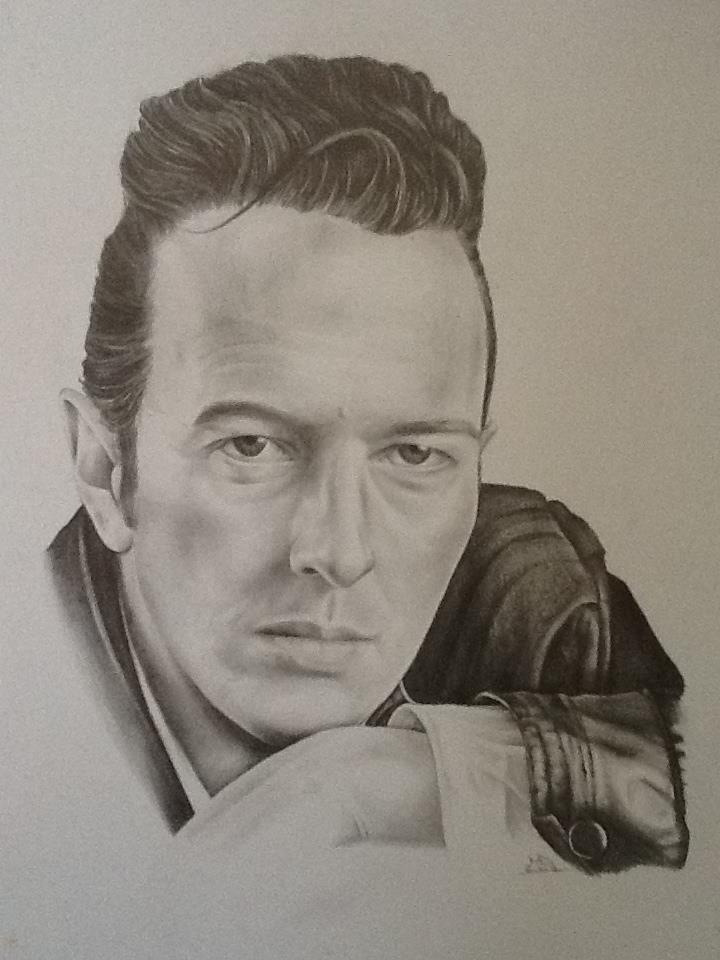 Joe Strummer Portrait - pencil sketch by MickMog on DeviantArt