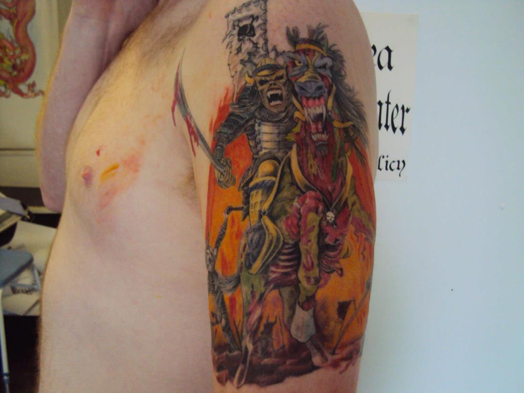 toms iron maiden tattoo by mickmog on deviantart. Black Bedroom Furniture Sets. Home Design Ideas