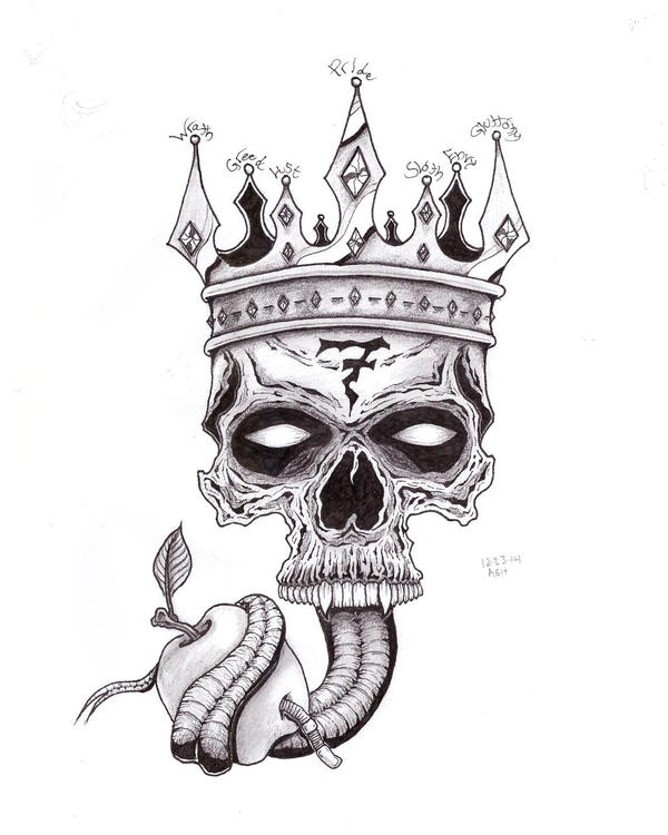 7 deadly sins tattoo by nothomeless on deviantart for Seven sins tattoo