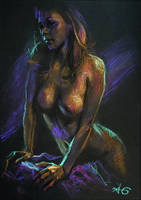 Josie Maran pastel by adriangi