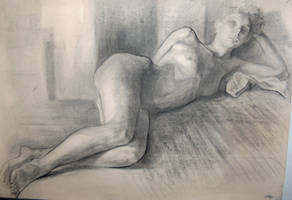 drawing Dana2 by adriangi
