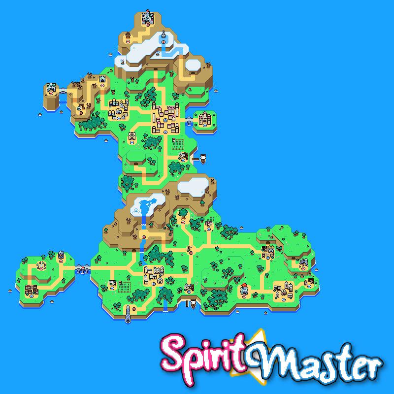 Spirit Master - World Map