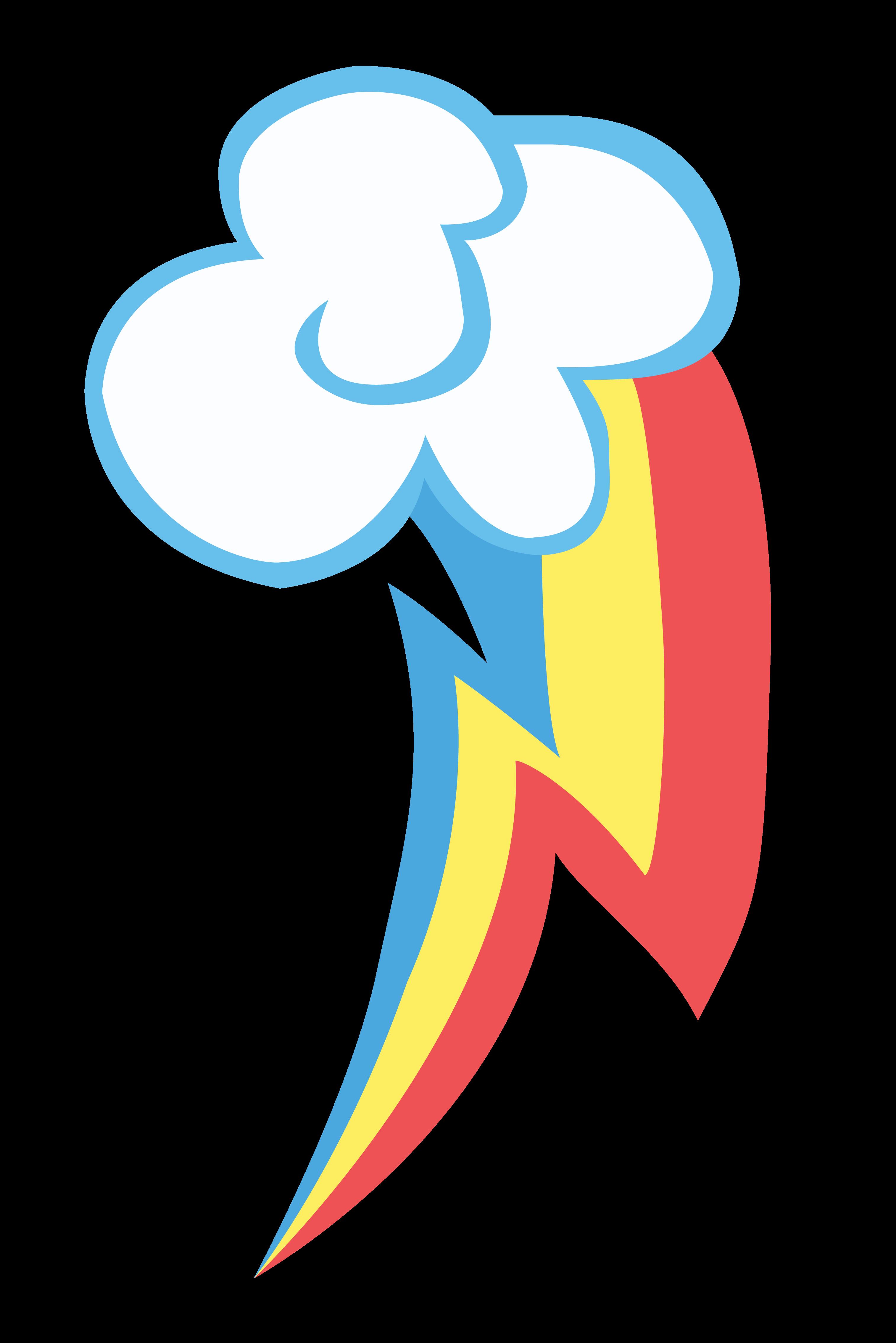 Rainbow Dash Cutie Mark Vector by MummifiedThunderbird on ...
