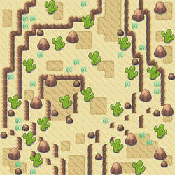 Desert Tiles for Dew by 44tim44