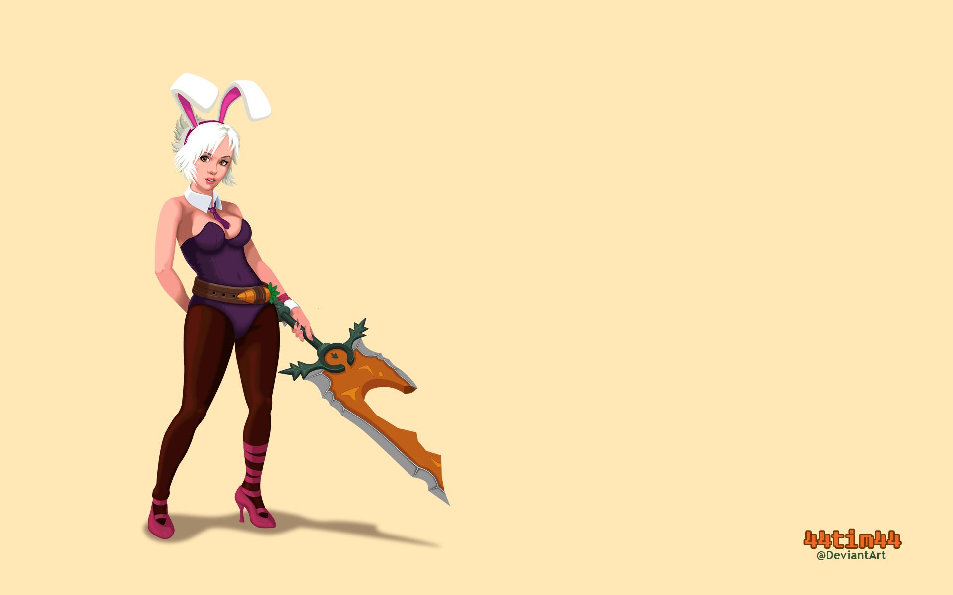 Bloodmoon Riven From League Of Legends Fantasy Art Warrior