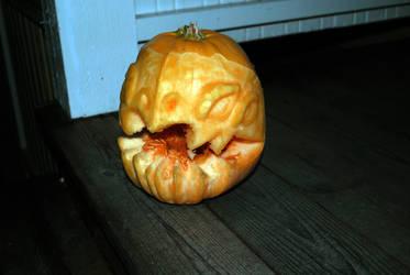 Kog'Maw Pumpkin Carving by 44tim44