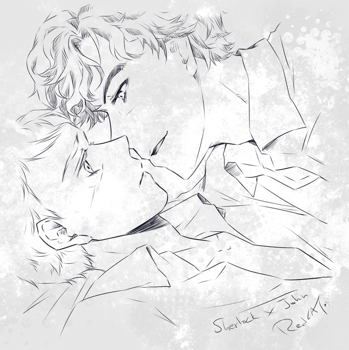 Johnlock by RedCAT18
