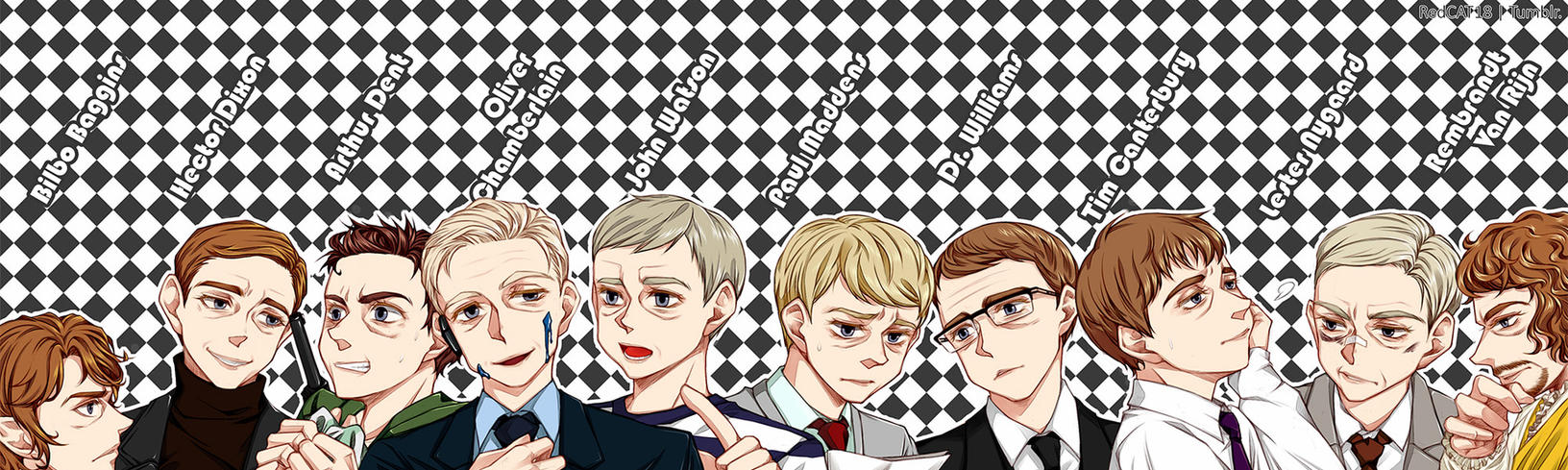 Full of Martin Freeman by RedCAT18