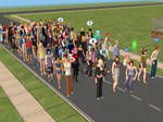 The Sims 2: Guests at a Party