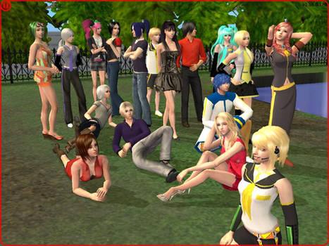 My Vocaloid Sims by BritneyBritofldw