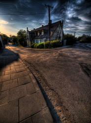 Tetmajera Street by kubica