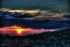 Salwator Sunset by kubica