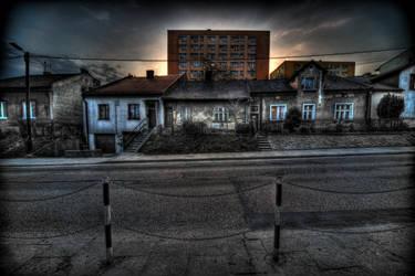 Stachiewicza Street by kubica