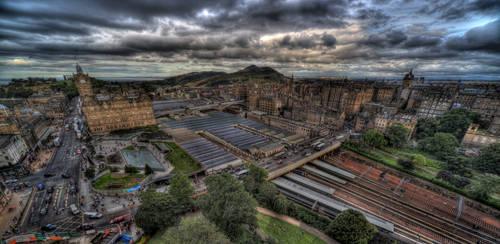 Edinburgh Panorama by kubica