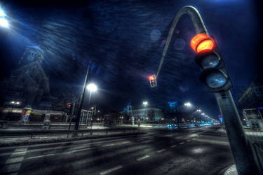 Red Lights II by kubica