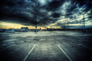 Concrete and clouds by kubica