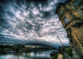 Footbridge by kubica